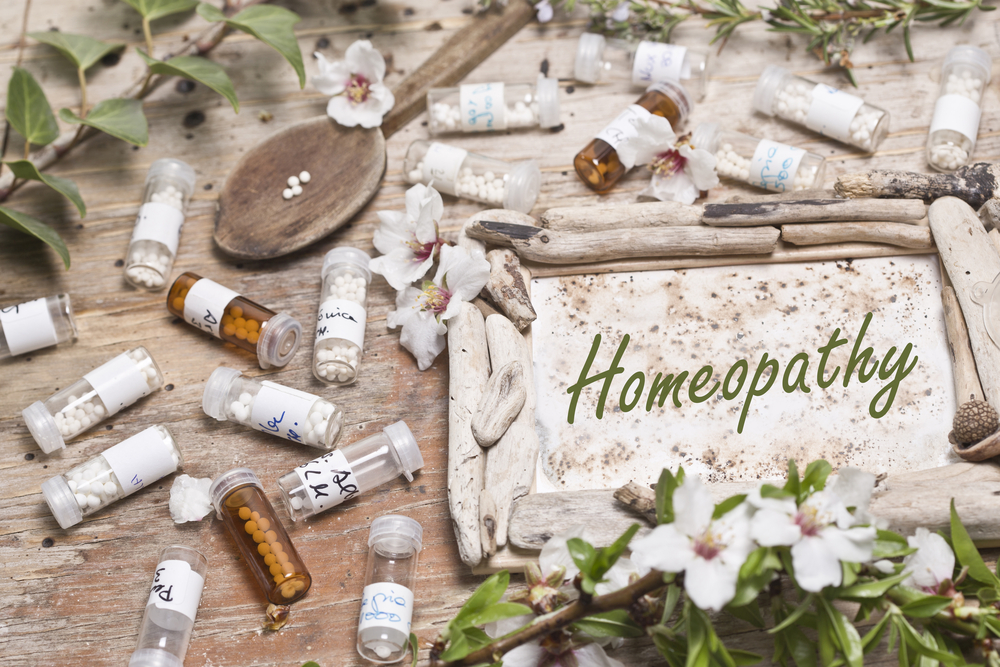 Homéopathie - Shutterstock
