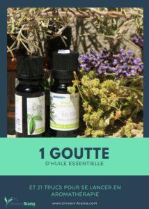 1 goutte d'huile essentielle et 21 trucs pour se lancer en aromathérapie