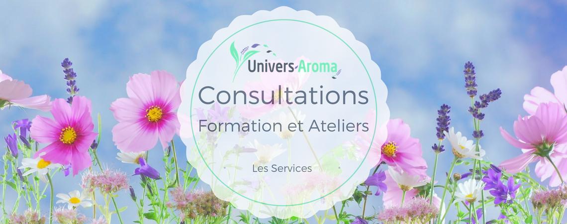 Univers-Aroma – les services