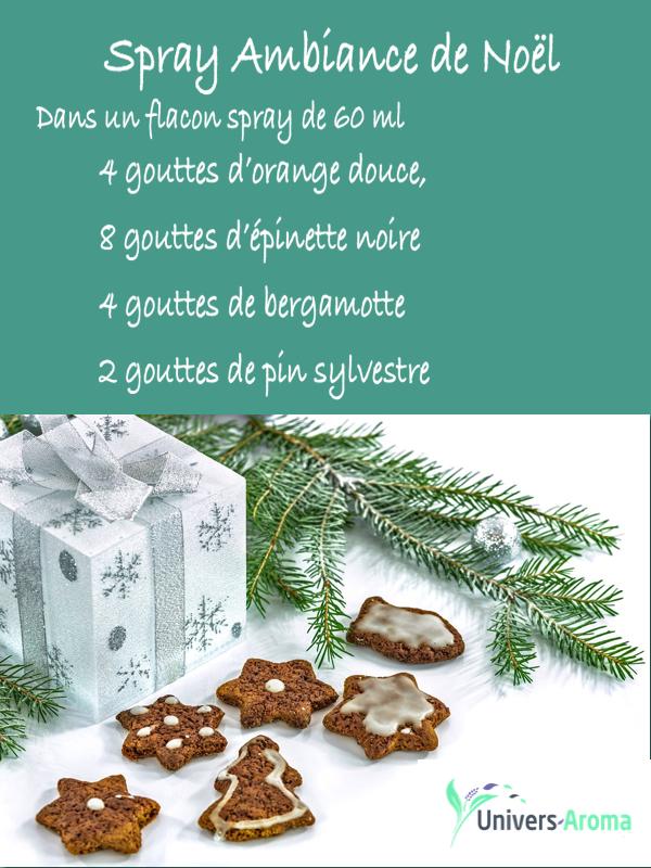 recette de Noël aromathérapie