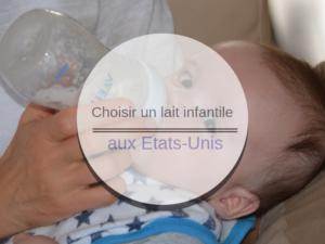 lait infantile aux Etats-Unis